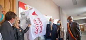 S.A.R le Prince Laurent a inauguré le dispensaire vétérinaire situé au CaSS