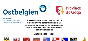 Confiance renouvelée entre la Province de Liège, la Communauté et les communes germanophones