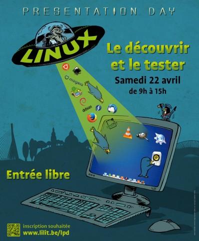 Linux Presentation Day, Liège, Belgique