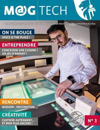 M@G TECH, le magazine des sciences et des technologies de la HEPL