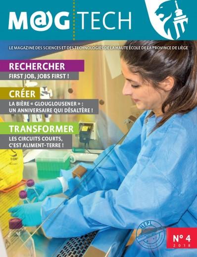 M@G TECH, le magazine des sciences et des technologies de la HEPL: numéro 4!