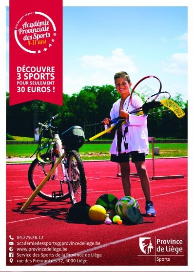 Académie provinciale des Sports 4 - 11 ans