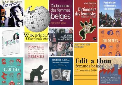 Edit-a-thon Wikipédia sur les femmes