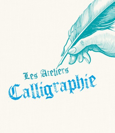 affiche des ateliers de calligraphie
