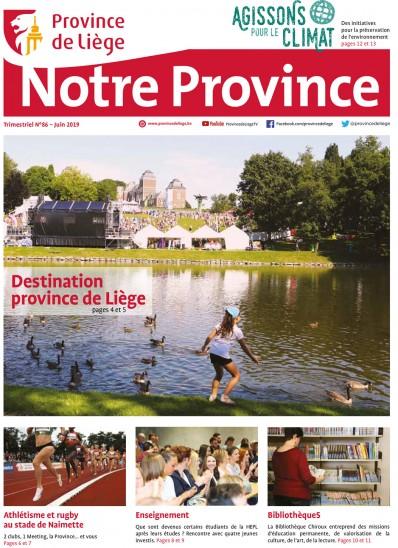 Notre Province n°86 - Juin 2019