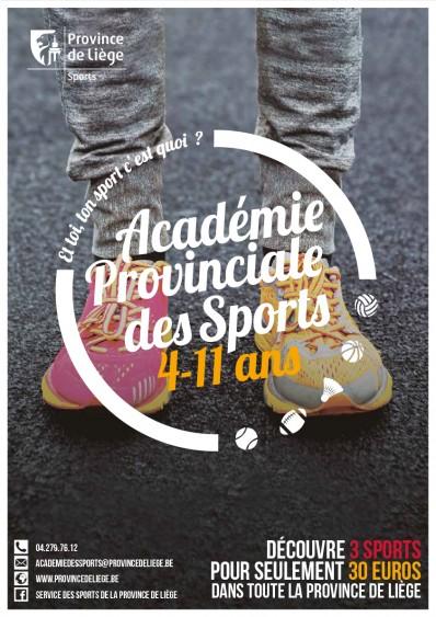 Académie provinciale des Sports 4-11 ans