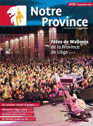 Notre Province n°87 - septembre 2018