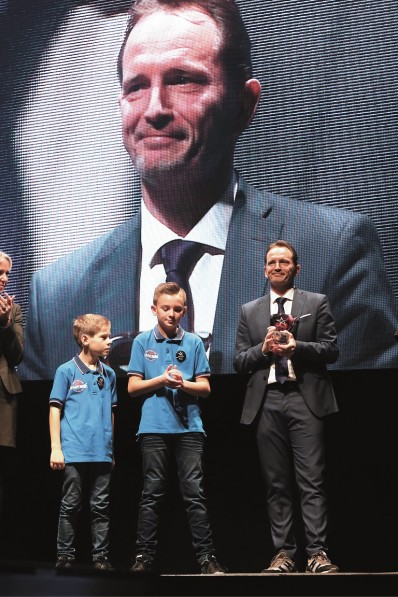 Jean-Michel Saive, Prix du Coeur