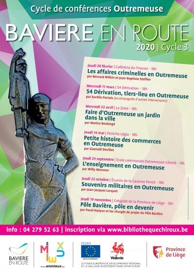Affiche Cycle de Conférences Bavière