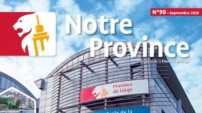 Edito: vers une nouvelle Province (Notre Province n°20 - septembre 2020)