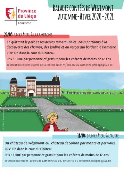 Balades contées Wégimont