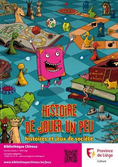 Histoire de jouer un peu : histoires et jeux de société
