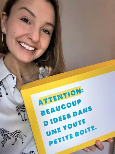 Louve Jacob, étudiante en 3e bloc du Bachelier en e-Business de la HEPL, fait parler d'elle depuis quelques semaines