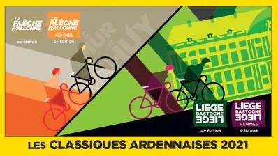 Classiques ardennaises 2021 - Liège-Bastogne-Liège et la Flèche wallonne avec la Province de Liège