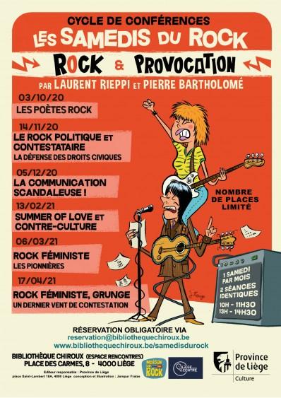 Samedis du Rock 2020-2021