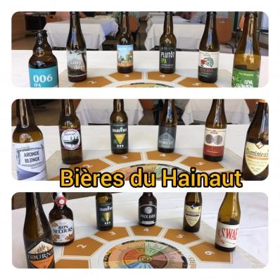 Hainaut - bières sélectionnées
