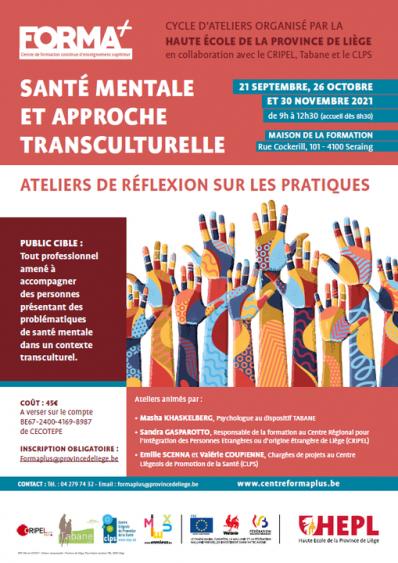 Santé mentale et approche transculturelle: ateliers de réflexion sur les pratiques