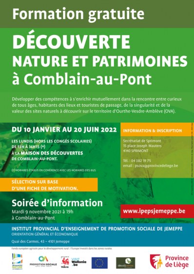 IPEPS Jemeppe: formation