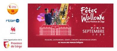 Les Fêtes de Wallonie de la Province de Liège 2021