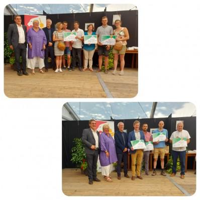 Les fermes et brasseries médaillées