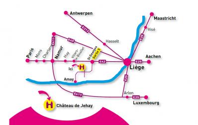 Plan - Province de Liège ©