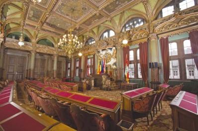 La Salle du Conseil provincial