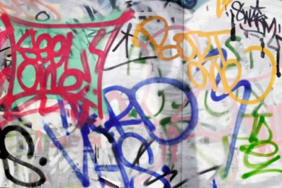Exemple de graffiti.