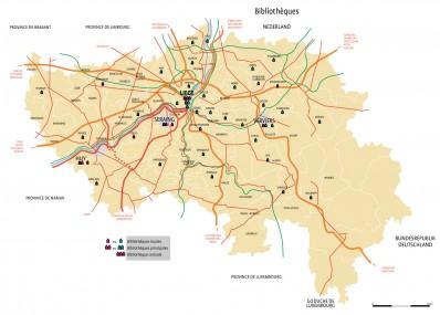 Réseau 2009 en Province de Liège