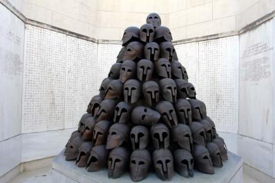 Mémorial Interallié de Cointe à Liège: le monument grec