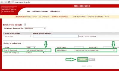 Artothèque Chiroux - Recherche en ligne