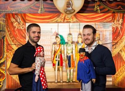 Die Schauspieler und die Marionetten