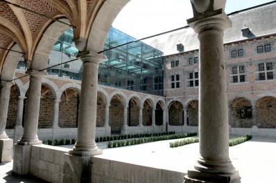 Le bâtiment du Musée de la Vie wallonne.