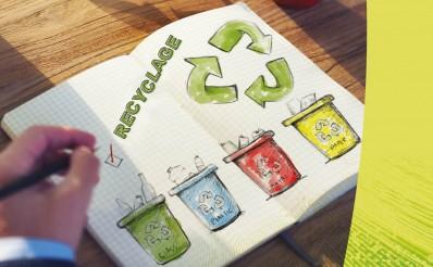 Les déchets dans les milieux professionnels et scolaires