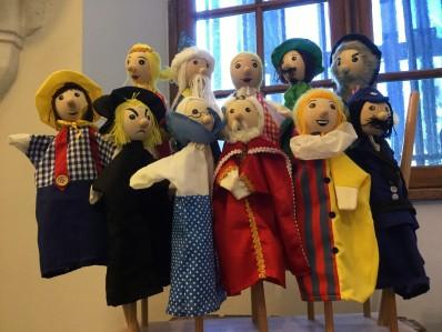 Marionnettes à la vente
