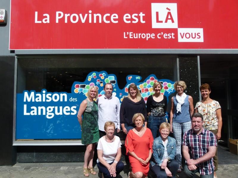 L'équipe de la Maison des Langues