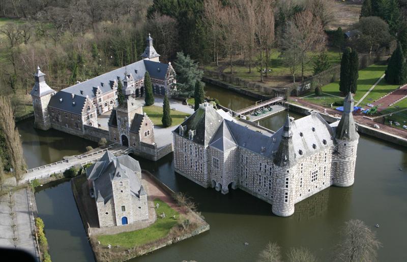 site du château de Jehay