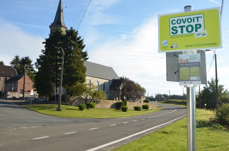 Panneau Covoit'Stop