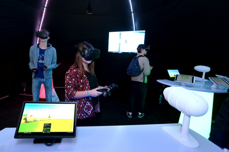 Technosphère, un jeu interactif et coopératif