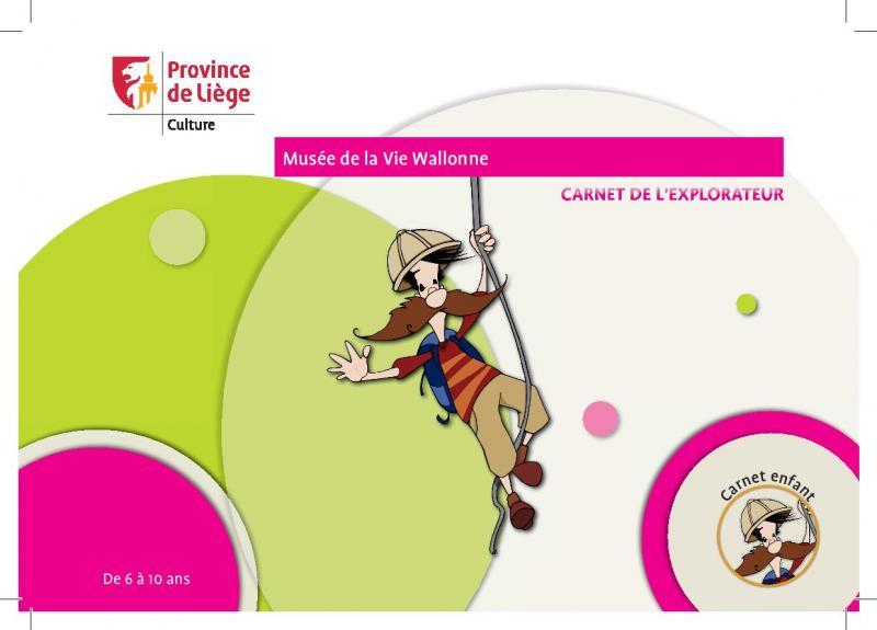 Visuel du Carnet de l'explorateur pour les enfants de 6 à 10 ans