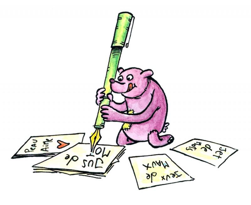 Ateliers d'écriture - Bibliothèque pour enfants