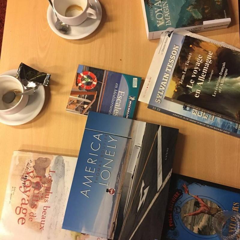 Café littéraire Voyage