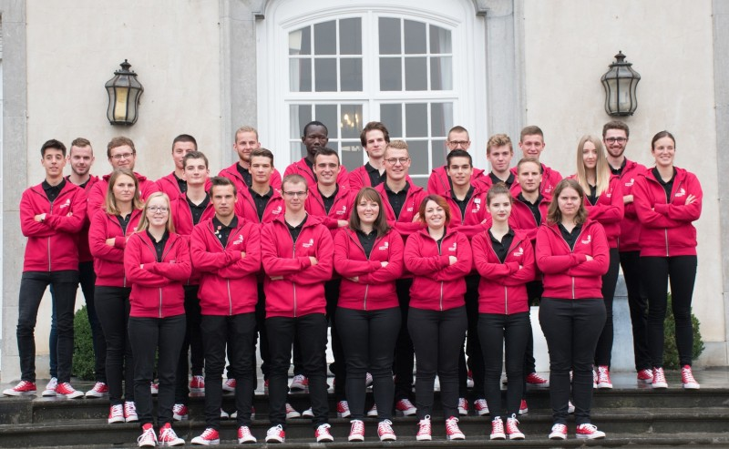 EuroSkills 2018 - Team Belgium