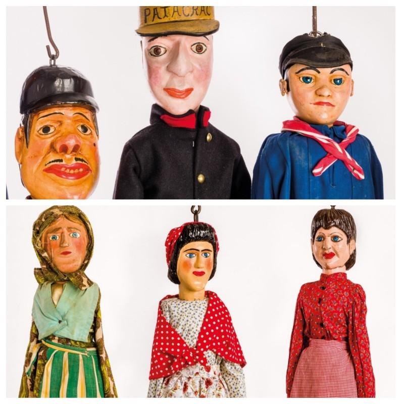 Tchantchès et Nanesse : plusieurs modèles de marionnettes