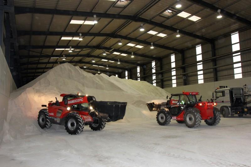 Un stock de 31.500 tonnes de sel de déneigement