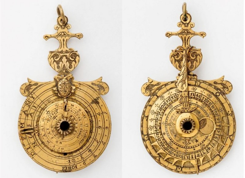 Nocturlabe, Frankreich, 1584
