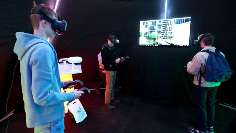 Technosphère en réalité virtuelle !