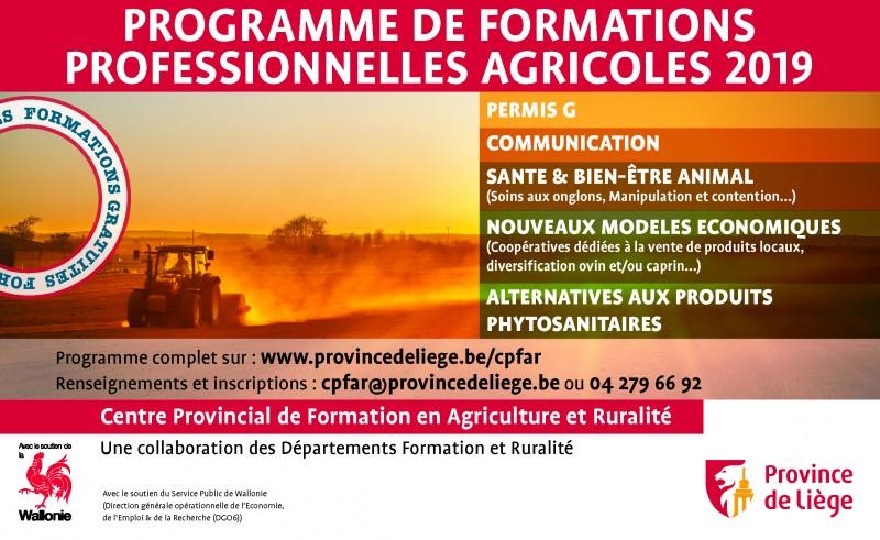 Catalogue de formations 2019