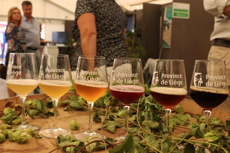 Sélection de bières du concours
