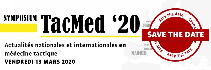 Save the date TacMed