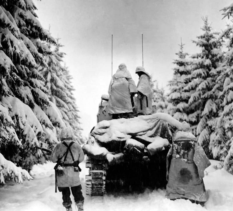 La Colonne Sud,en souvenir de la Bataille des Ardennes